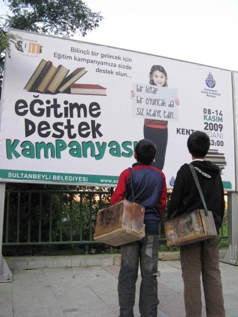 İşçi Çocuklar İçin Eğitime Destek Kampanyası