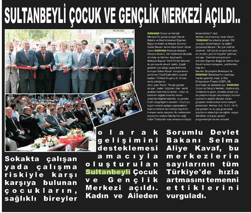 İGEP Yerel Gazete Haberi