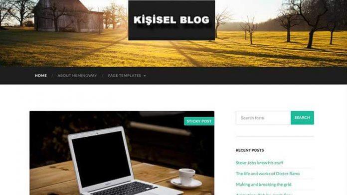 Kişisel Blog Siteleri