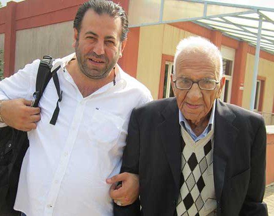 Şair Sedat Umran ve Muzaffer Çevik
