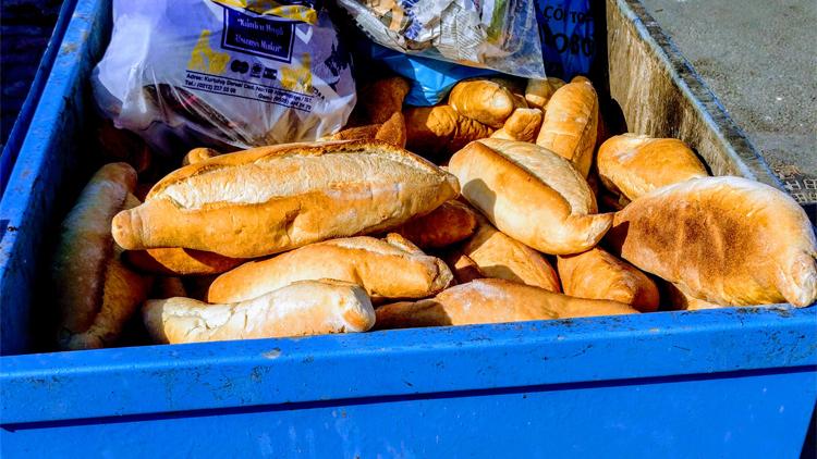 Çöpe Atılan Ekmekler