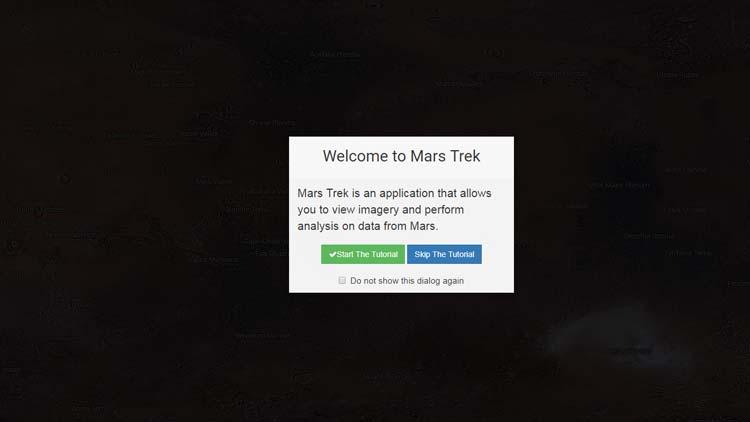 Google Mars Trek