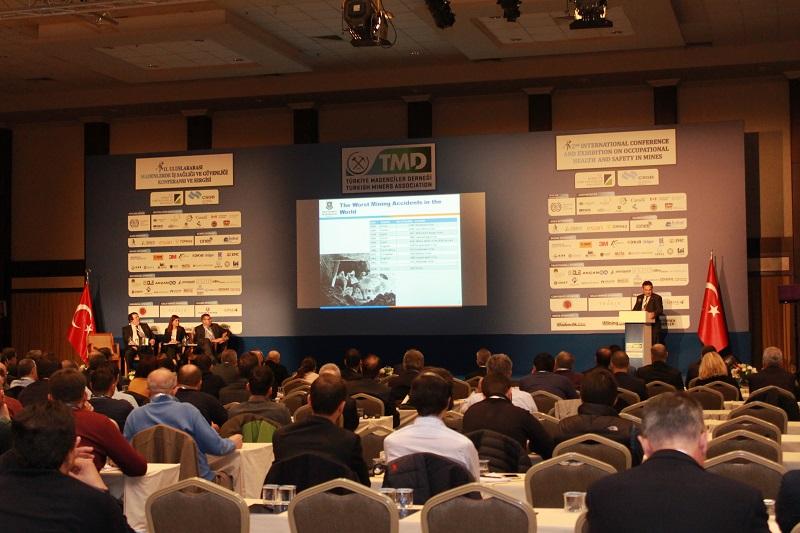 3.Uluslararası Madenlerde İş Sağlığı ve Güvenliği Konferansı ve Sergisi