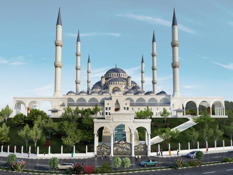 Çamlıca Camii Nerede