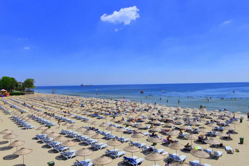 İBB Şile Plajlarında Temizlik ve Güvenlik Hizmetleri Veriyor