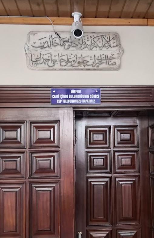 Ağva Çelebi Ahmet Cami Kitabesi