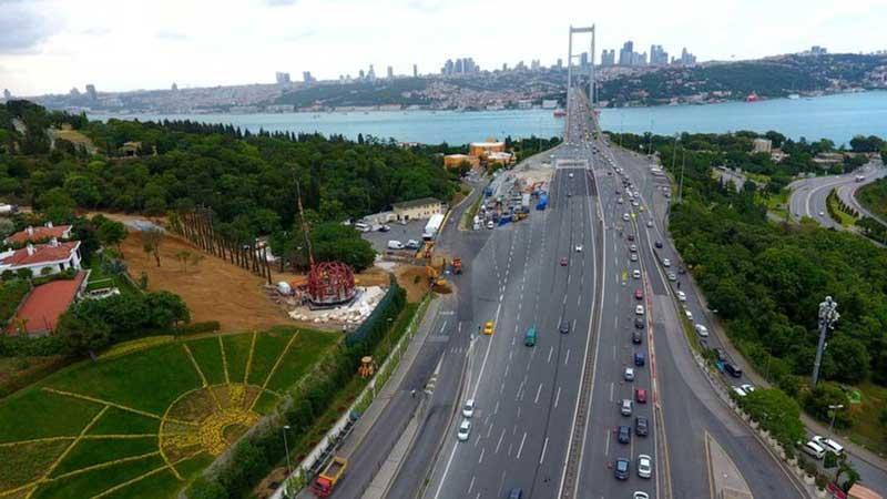 Anadolu Yakası 15 Temmuz Şehitler Köprüsü