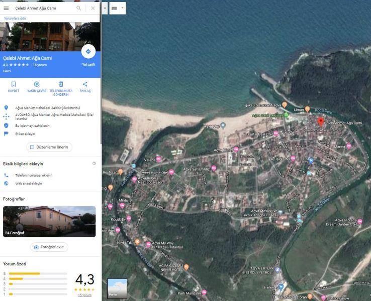 Google Map Uygulaması (Google Haritalar)