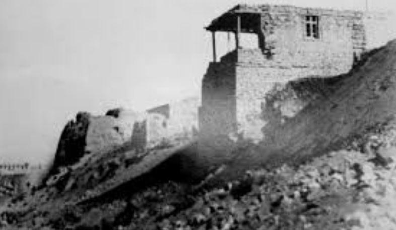 Emir Mirgünoğlunun Revan Kalesi Kalıntıları