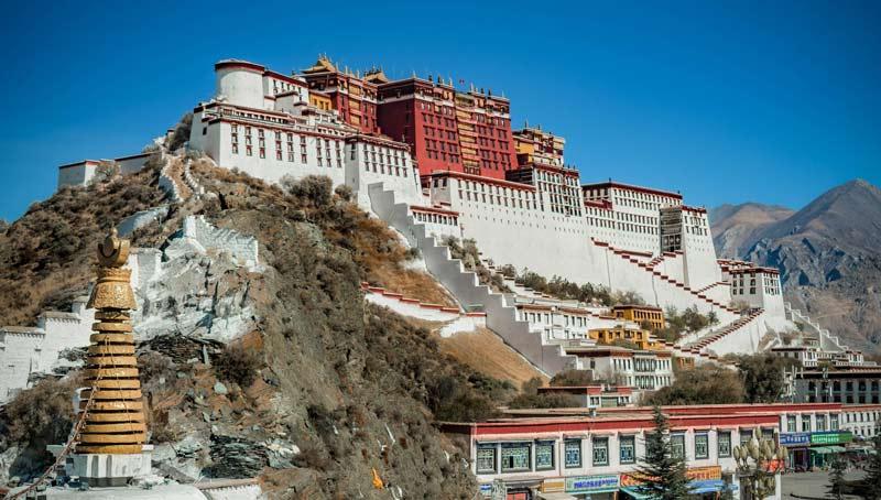 Potala Sarayı, Çin'in Tibet Özerk Bölgesi