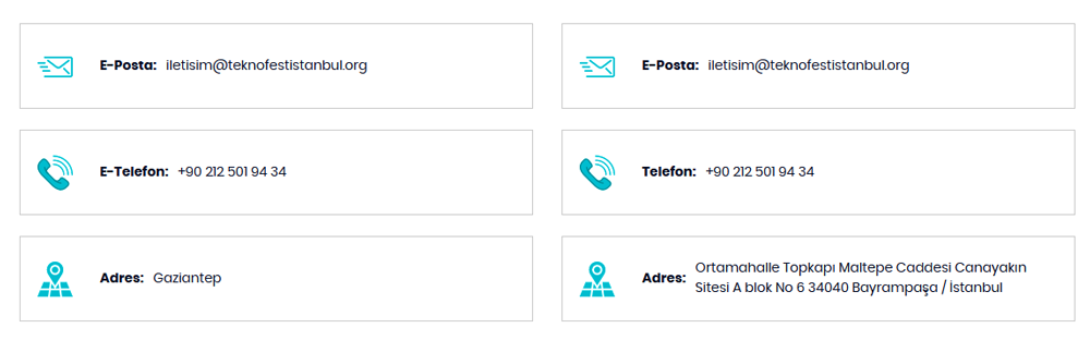 Teknofest İletişim